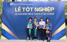 Xúc động với lời nhắn gửi đến từng cô cậu học trò trong buổi lễ tốt nghiệp đặc biệt tại Trường Đại học Công nghệ Thông tin ĐHQG-HCM