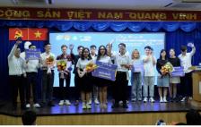 Sinh viên năm 2 Chương trình Tiên tiến UIT giành giải Quán quân cuộc thi Khởi nghiệp 2020