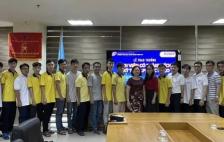 Hiệu Trưởng trường Đại học Công nghệ Thông tin ĐHQG-HCM gặp gỡ, vinh danh nhóm sinh viên đạt thành tích cao tại cuộc thi Olympic Tin học sinh viên Toàn quốc & kỳ thi Lập trình sinh viên quốc tế ICPC