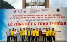 Đội tuyển sinh viên UIT lọt vào tốp 18 đội mạnh nhất kỳ thi lập trình sinh viên quốc tế ICPC Asia 2020 danh giá