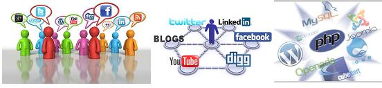 Kỹ sư xây dựng, phát triển các ứng dụng về lãnh vực truyền thông xã hội và công nghệ Web